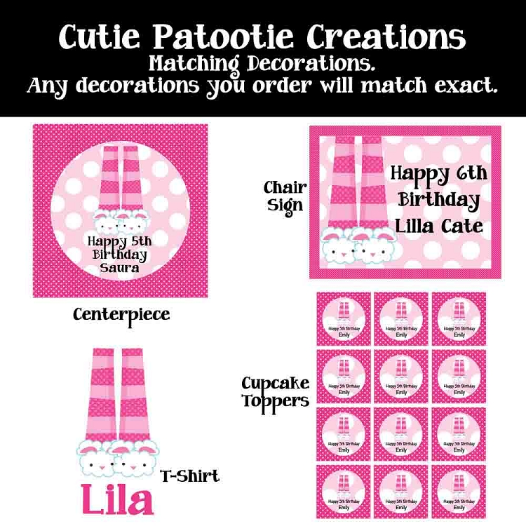 Pink Giraffe Birthday Invitations