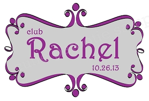 Custom Bat Mitzvah Logos -  ANY COLOR COMBO AVAILABLE