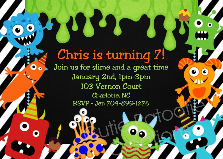 Bash Invitations Bash Birthday Invitations
