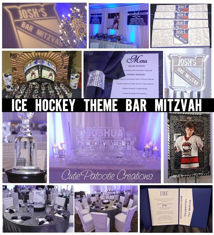 Joshua's New York Ranger Ice Hockey Theme Bar Mitzvah
