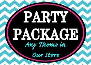 PARTY PACKAGE - ANY THEME IN OUR STORE