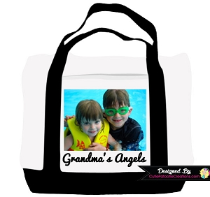 Personalized Gift for Grandma - Photo Tote Bag