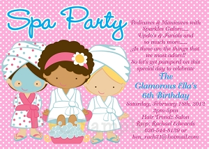 Printable spa party invitations gidiyedformapolitica printable spa party invitations filmwisefo Gallery