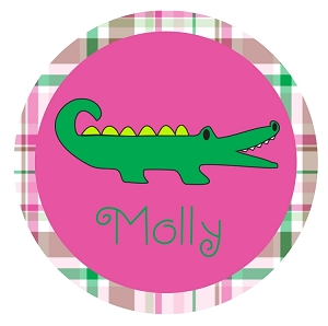 Preppy Alligator T-Shirt or Onesie Personalized