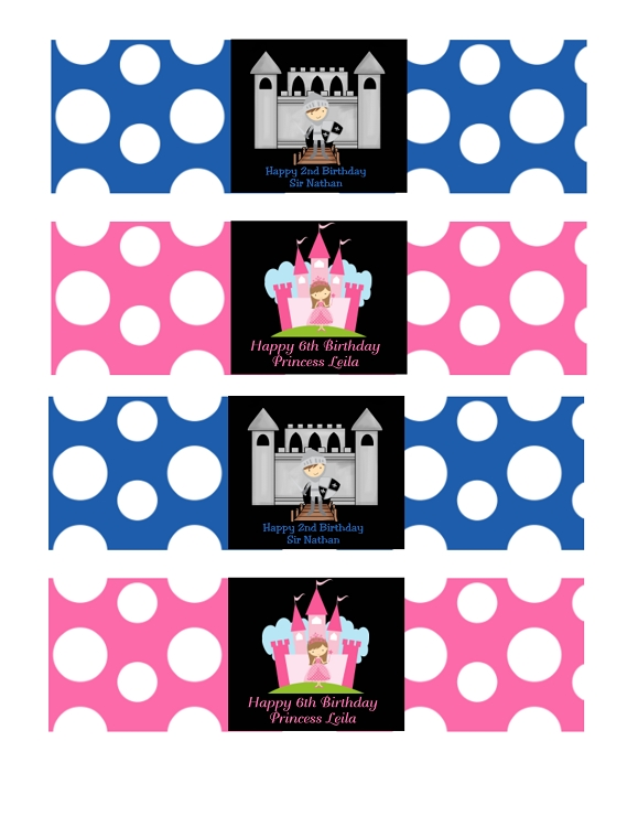 Invitations for a Princess and Knight party – Princess and Knight Party Invitations