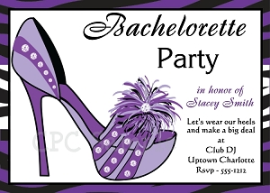 Bachelorette Party Invitation - Wedding Shower Invitations