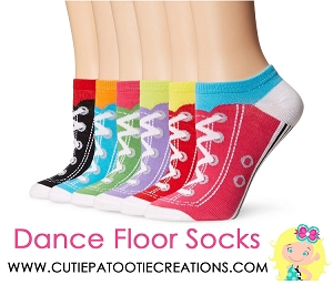 Dance Floor Party Socks For Bar Mitzvahs Bat Mitzvahs And