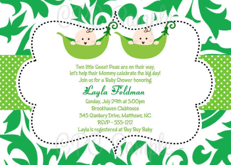 personalized baby shower invitations for boys, girls and twins., Baby shower invitations