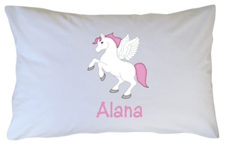 Personalized Unicorn Pillow Case For Kids Adults And Toddler