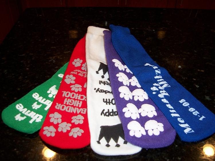 Grippy Socks For Bar Or Bat Mitzvah Weddings Sweet 16