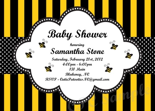 parties shower my baby bumble party to bee mother catch bumblebee
