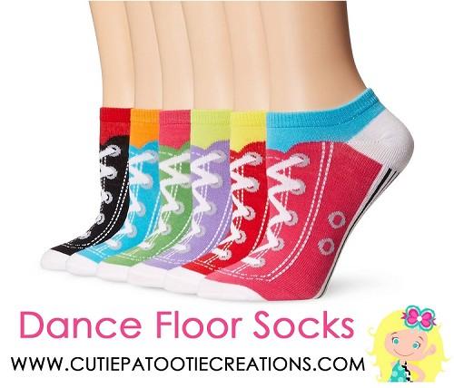 Dance Floor Party Socks Sneaker Low Cut No Show Sock