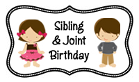 Sibling & Joint Birthday