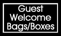 WELCOME BAGS and BOXES