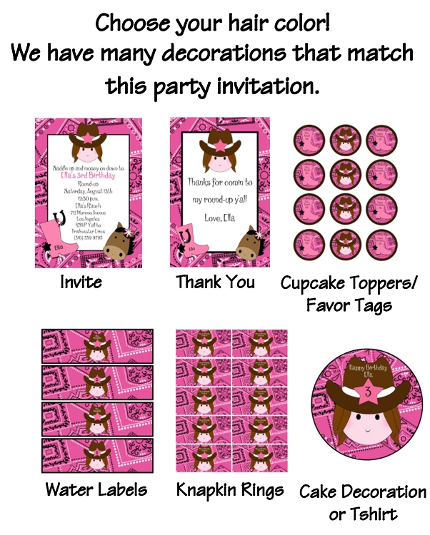 Cowgirl Candy Stickers Set of 90 Cowgirl Birthday Labels Western Party Stickers Cowgirl Party Favor