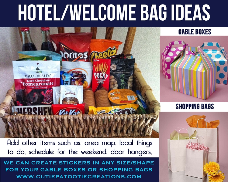 Hotel Welcome Bag Ideas For Mitzvahs Weddings And Sweet 16 S