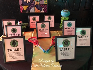 Table Seating Chart | Table Assignment Cards | We can do Any theme