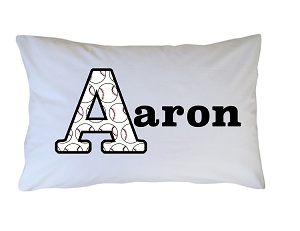 Personalized Baseball Pillow Case for Kids, Adults and Toddler