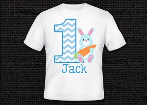Easter Bunny 1st Birthday T-Shirt or Onesie ANY AGE AVAILABLE