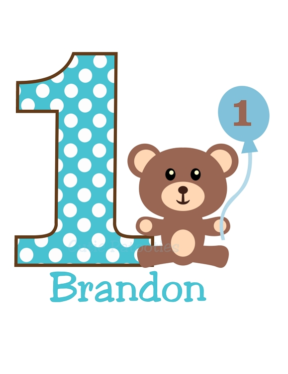 Personalized Boys Teddy Bear T Shirt Or Onesies