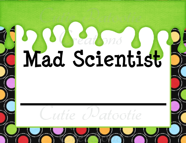 picture about Printable Mad Science Sign identified as Insane Science Birthday Bash Invites