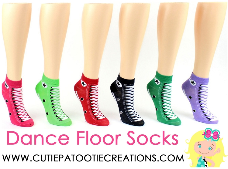 Dance Floor Party Socks Converse Sneaker Low Cut Ankle
