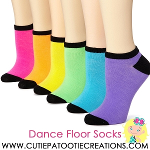 Dance Floor Party Socks for Bar and Bat Mitzvahs