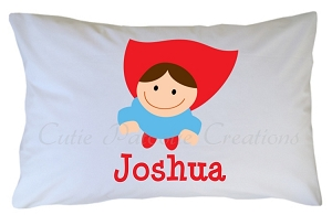 Personalized Superhero Pillow Case for Kids, Adults and Toddler