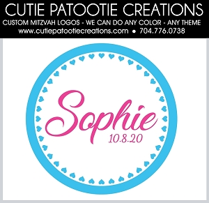 Sophie Turquoise Heart Logo