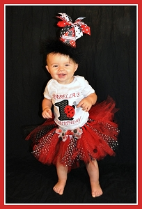 Personalized Ladybug T-Shirt or Bodysuit