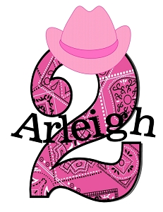 Personalized Pink Bandana Cowgirl Birthday T-Shirt or Bodysuit