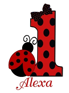 Personalized Ladybug Birthday T-Shirt or Bodysuit
