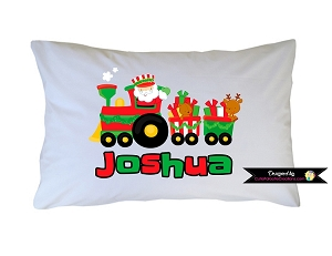 Personalized Santa Claus Pillow Case for Kids, Adults and Toddler