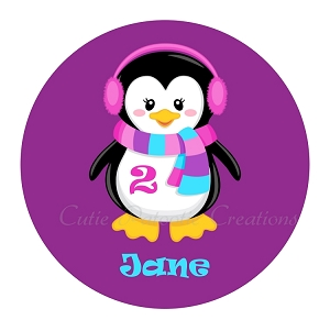 Personalized Penguin TShirt or Onesie | Baby Clothes