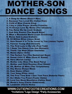 Top 30 Mother Son Dance Songs for Bar Mitzvah and Weddings
