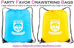 Drawstring Backpack with your Logo - Minimum 25