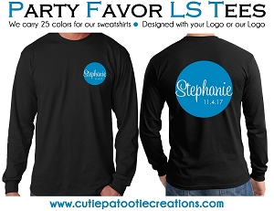 Personalized Long Sleeve T-Shirt with your Logo - Low Minimums - CALL FOR PRICING