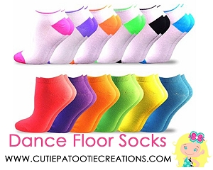 Dance Floor Party Socks - Colorful Socks for Bar and Bat Mitzvah