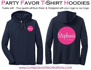 Personalized Lightweight Beach Hoodie with your Logo - Low Minimums - CALL FOR PRICING