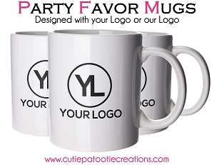 Personalized Ceramic Mug with Logo - 11oz - MINIMUM 72
