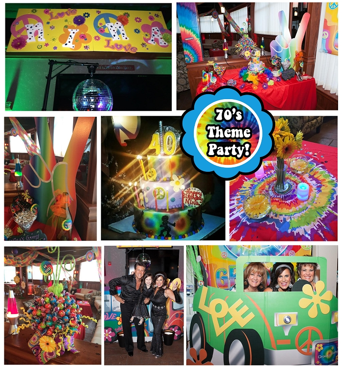Disco Tie Dye Birthday Party Invitation For 70s 80s 90s