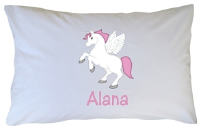 Personalized Unicorn Pillow Case for Kids, Adults and Toddler