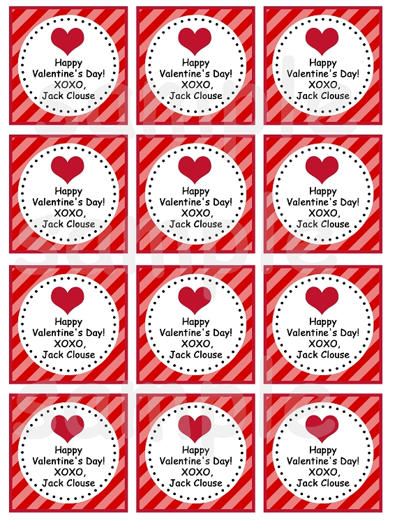 This is a picture of Printable Valentine Tags with regard to label