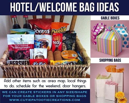 Hotel Welcome Bag Ideas For Mitzvahs Weddings And Sweet 16s