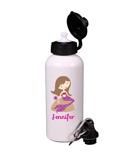 Personalized Mermaid Water Bottle