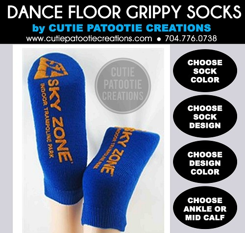 Bar and Bat Mitzvah Socks with Grippy Grip Bottoms