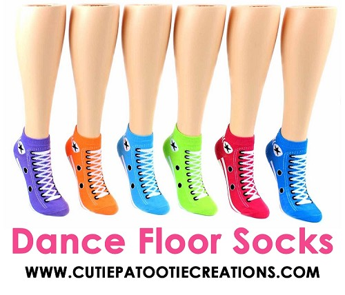 Converse Sneaker Socks for Bar and Bat Mitzvah's, Weddings and Sweet 16