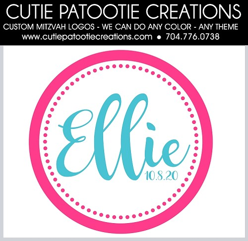Ellie Hot Pink Circle Logo