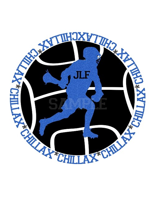 Lacrosse Bar Mitzvah Logo Chill Lax