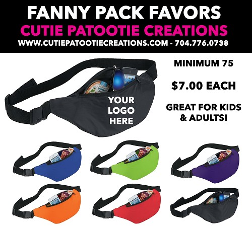 Fanny Waist Pack Mitzvah Party Favors - See Description for More Info